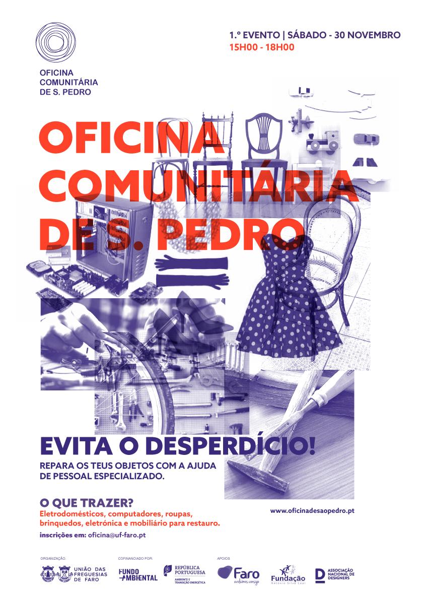 Cartaz_Oficina Comunitária de S. Pedro_30 Nov